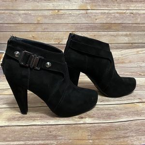 G by Guess Talka black booties